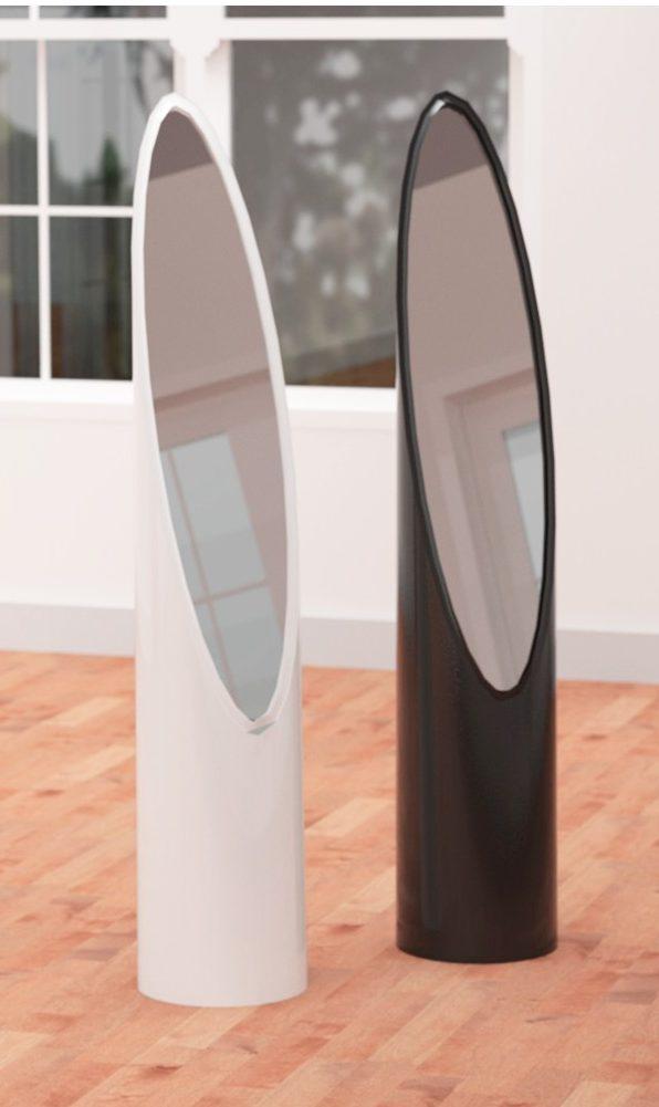 espejo juego 2 unid ural blanco color blanco e1554915964391