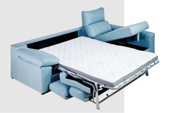 Sofa cama chaise longue mod gre 473 002