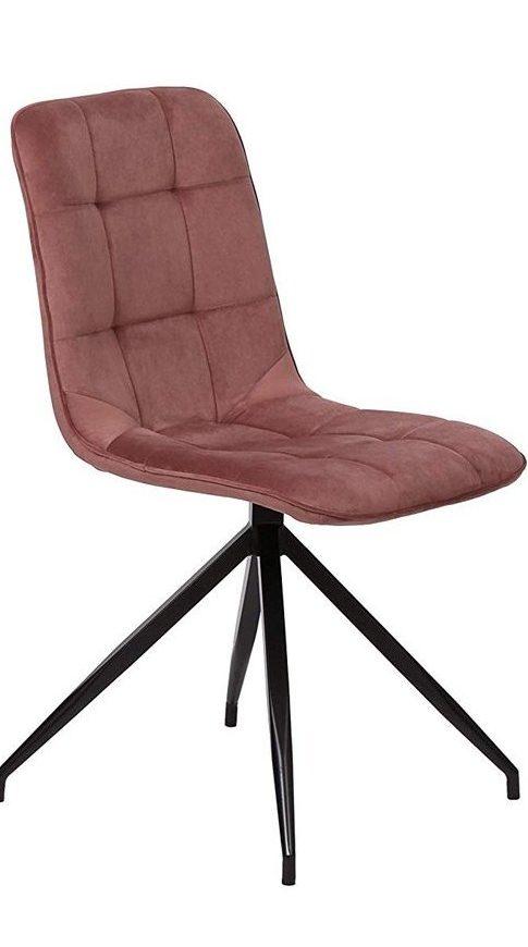 conjunto de 2 sillas de comedor rosemary rosa maquillaje furniture style e1589884948489